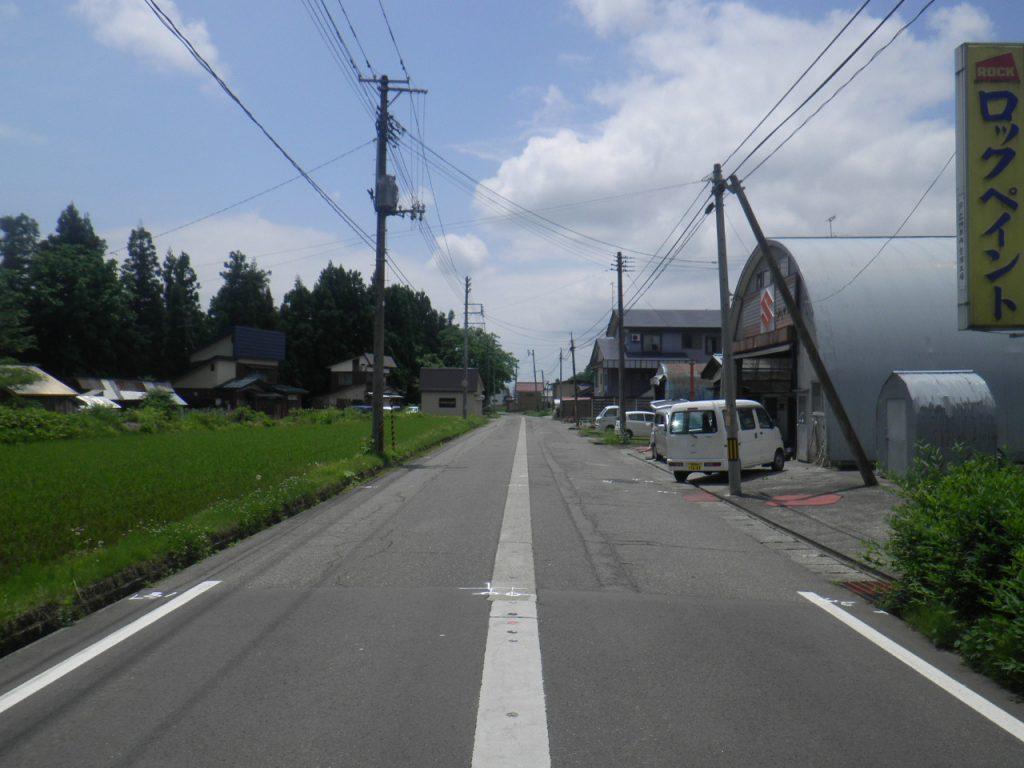 魚沼市金ヶ沢(工事前)